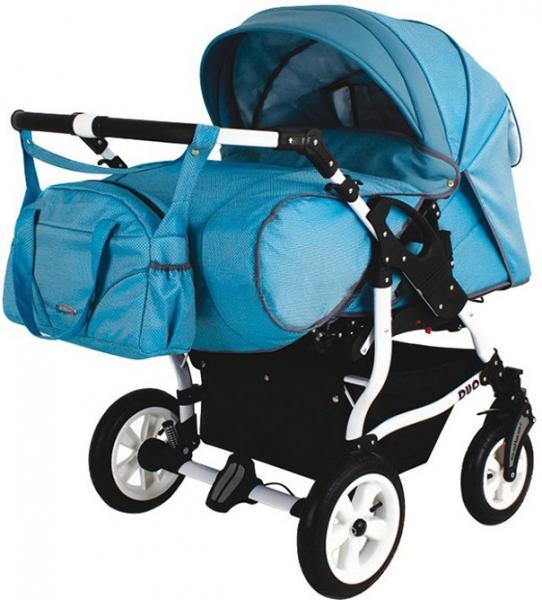 Коляска для близнецов, коляска для двойни Adbor Duo