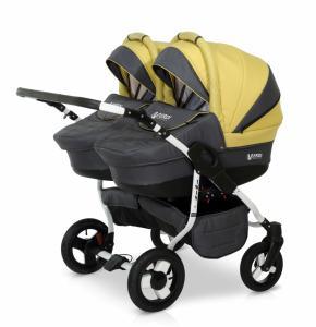 Фото Коляски и автокресла , Коляски, Коляски для двойни  Детская универсальная коляска для двойни 2в1 Verdi Twin