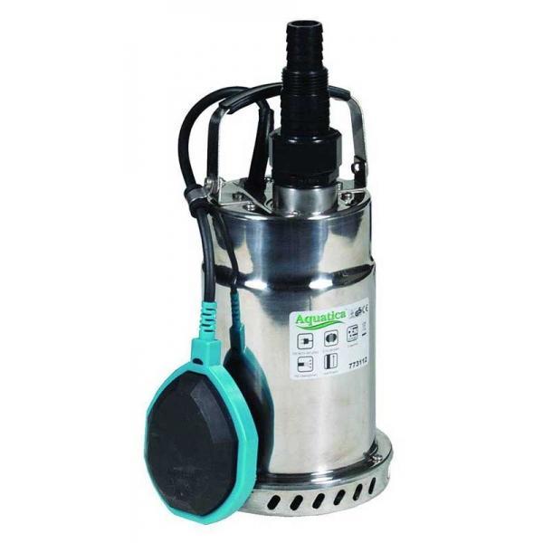 773112 Aquatica Насос дренажный 0.75кВт 9м 192л/мин для чистой воды (нерж)