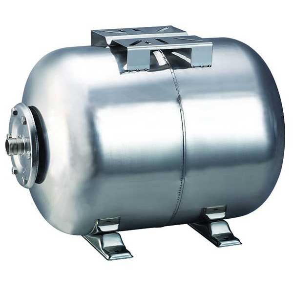 779111 Aquatica гидроаккумулятор горизонтальный 24л (нерж)