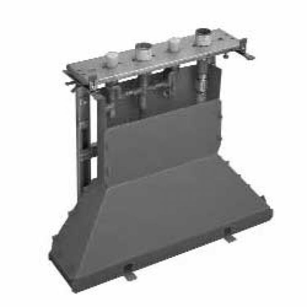 Скрытая часть смесителя для ванны, на 4 отверстия, для монтажа на плитку Axor 14445180