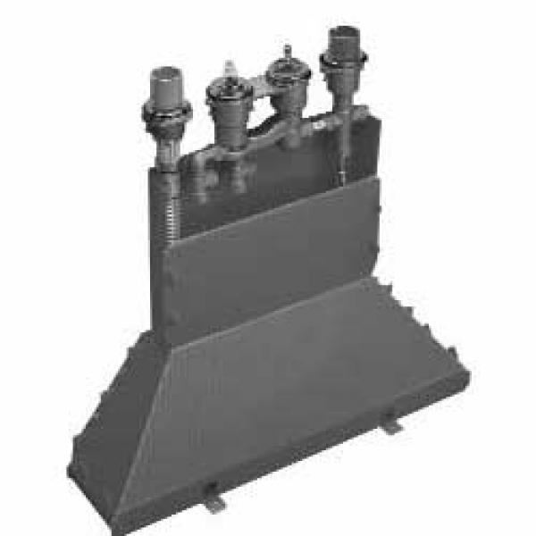 Скрытая часть смесителя на край ванны, на 4 отверстия, с термостатом Axor 15460180