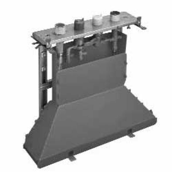 Скрытая часть смесителя для ванны, на 4 отверстия, для монтажа на плитку, с термостатом Axor 15465180