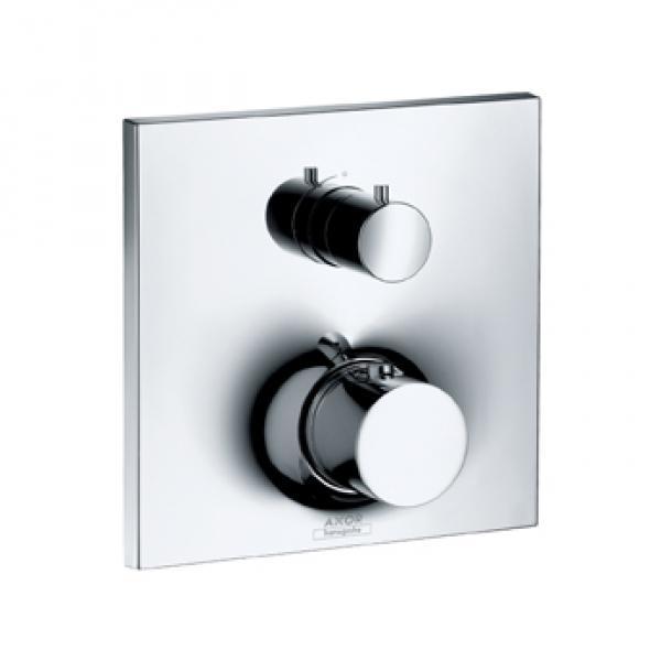 Термостат Axor Massaud, с запорным/переключающим вентилем 18750000