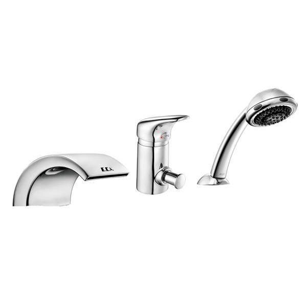 Смеситель для ванны скрытого монтажа, 3 отв. E.C.A. MIX S 402153004 (М 835)