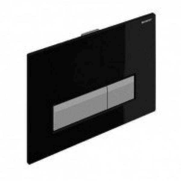 Клавиша смыва Geberit Sigma40, черный алюминий со встроенной системой удаления запаха 115.600.KR.1