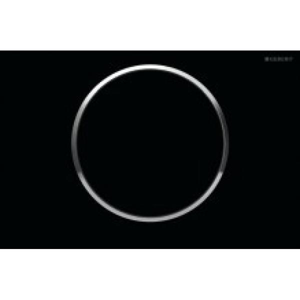 Клавиша смыва Geberit Sigma10 черный / хром / черный 115.758.KM.5