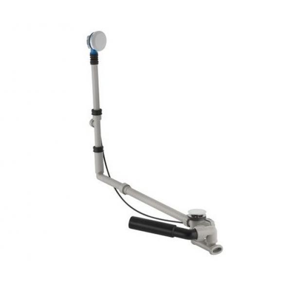 Сифон для ванны Geberit удлиненный с подводом воды через перелив, с поворотной ручкой и крышкой сливного отверстия 150.525.21.1