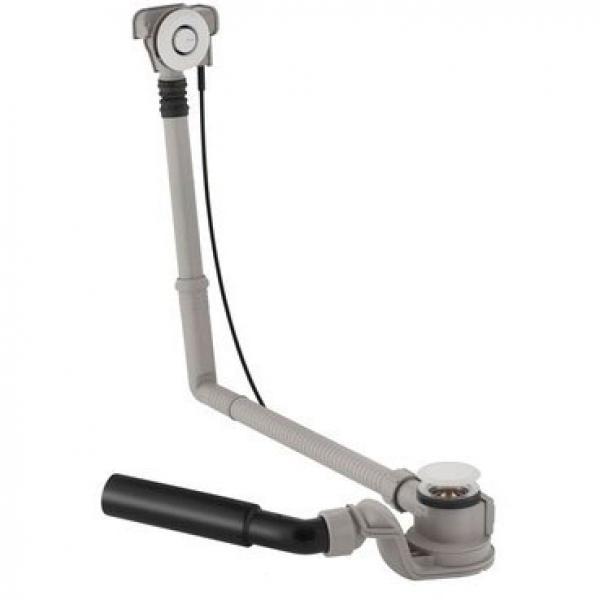 Сифон для ванны Geberit с кнопкой слива, удлиненный, хром мат 150.756.46.1