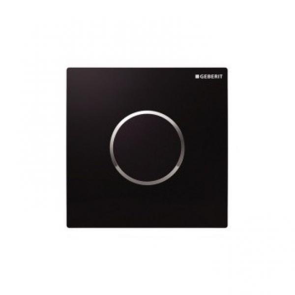 Geberit 116.025.KM.1 HyTronic ИК привод смыва для писсуара, 230B, Sigma10, черный хром