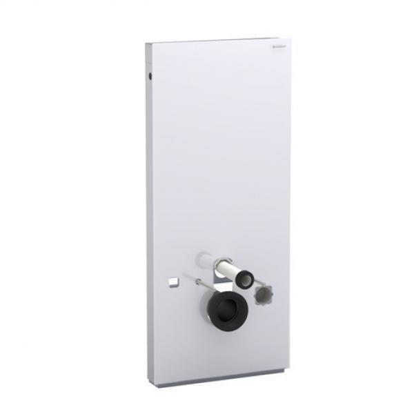 Geberit 131.032.SI.1 Monolith для Geberit AquaClean 8000, белое стекло алюминий, 114 см