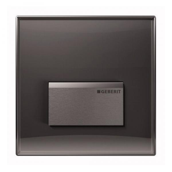 Geberit 116.016.SD.5 HyTouch смыв для писсуара Sigma50, зеркальное дымчатое стекло