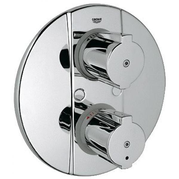 Накладная панель термостата для душа Grohe Grohtherm 2000 Special 19416000 скрытый хром