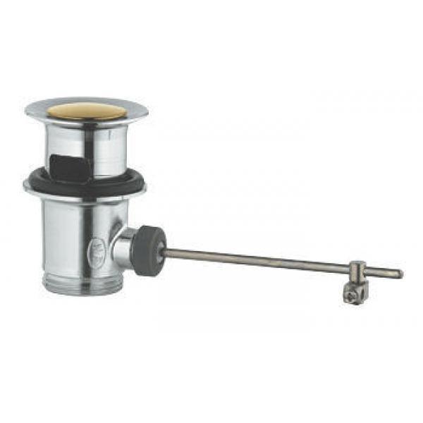 Сливной гарнитур (донный клапан) Grohe хром/золото 28910IG0
