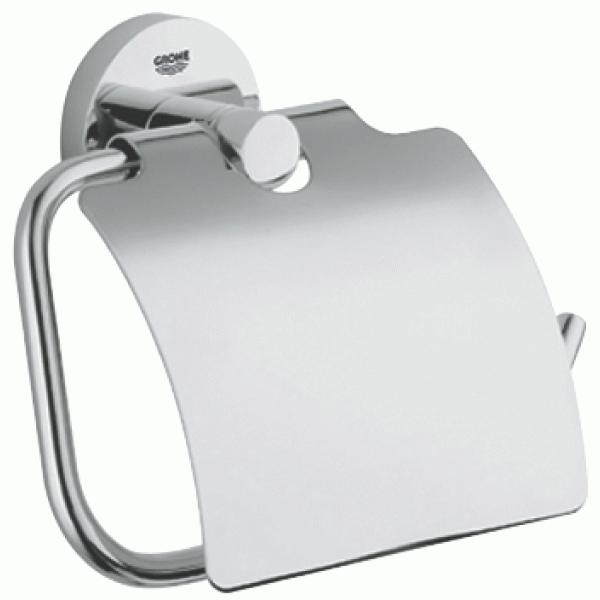 Держатель туалетной бумаги с крышкой Grohe Essentials 40367000
