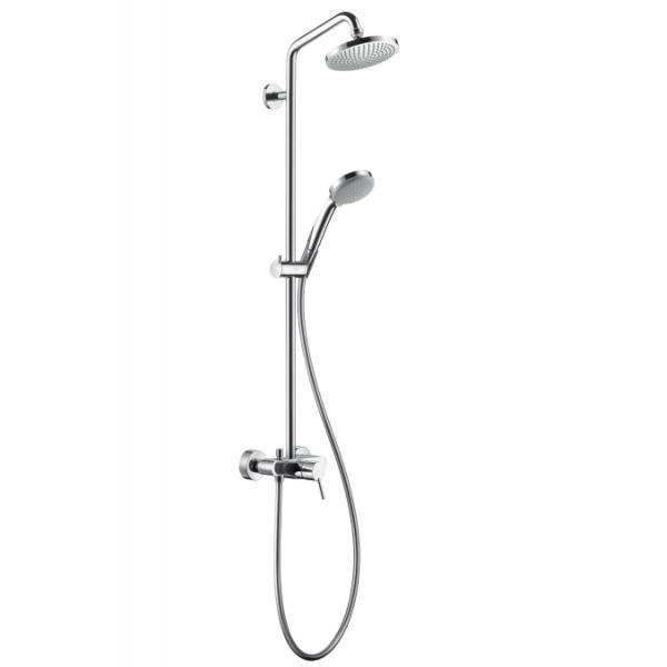 27154000 Hansgrohe Croma 100 Showerpipe для душа с однорычажным смесителем