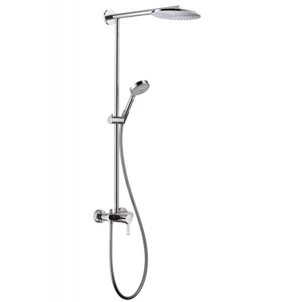 27193000 Hansgrohe Raindance Showerpipe 240мм для душа с однорычажным смесителем