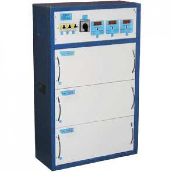 Трехфазный стабилизатор HHCT-3x10000 CALMER