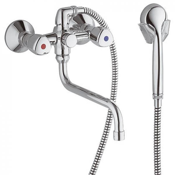 251230515 KLUDI STANDARD Специальный смеситель ванна/душ DN 15 длина излива от стены 300 мм