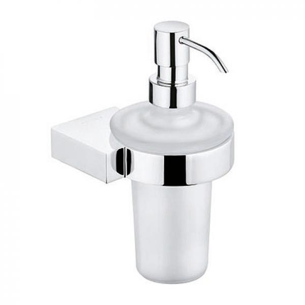 4897605 KLUDI A-XES Дозатор жидкого мыла, матовое стекло