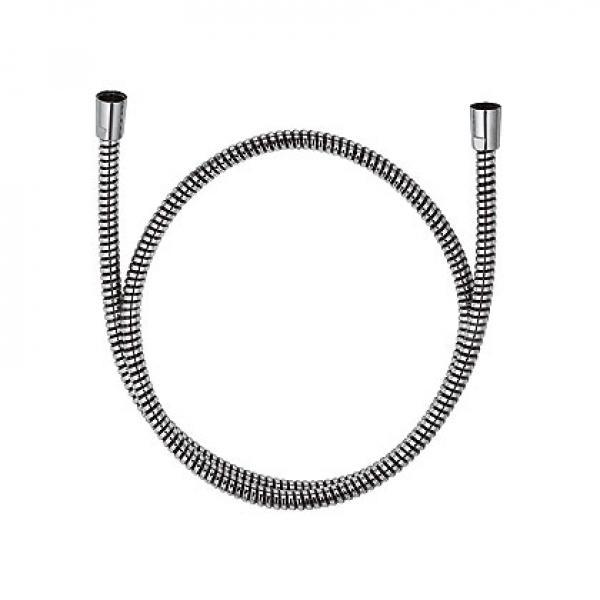 610550500 KLUDI ZENTA Душевой шланг Logoflex, обмотка из пластика, с металлическим эффектом, G 1/2 x G 1/2 x 1250 мм