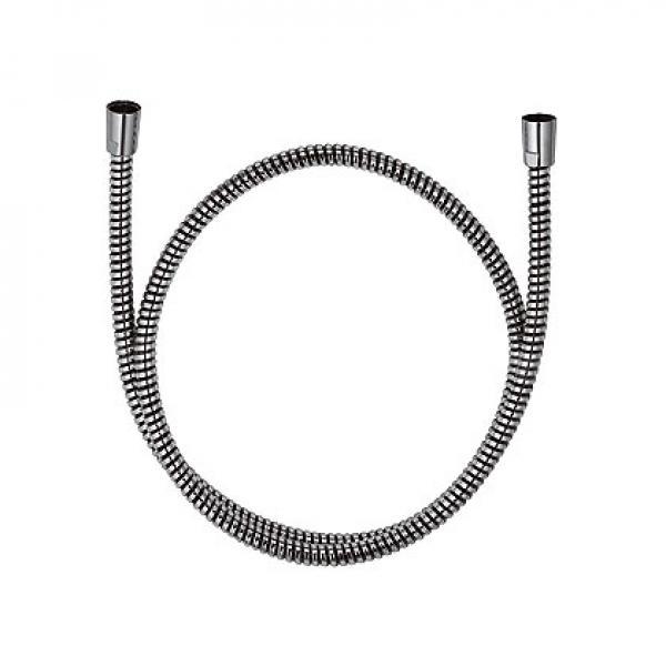 610560500 KLUDI ZENTA Душевой шланг Logoflex, обмотка из пластика, с металлическим эффектом, G 1/2 x G 1/2 x 1600 мм