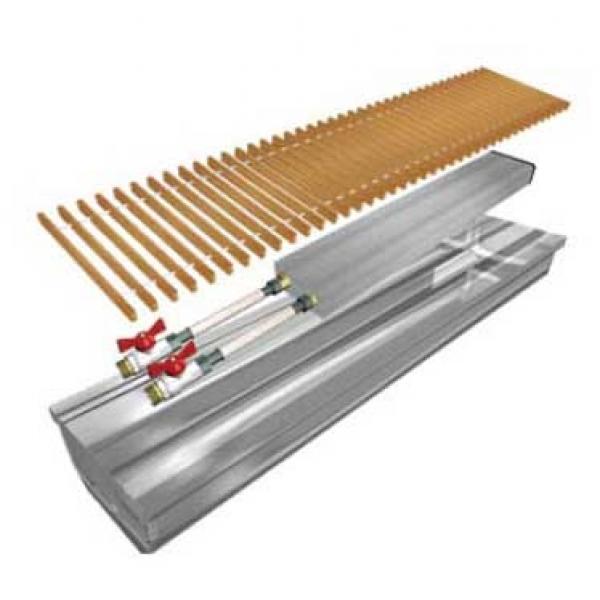 Внутрипольный конвектор Polvax без вентилятора KE-120, 230Х2500мм