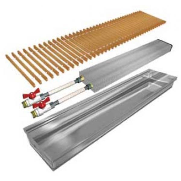 Внутрипольный конвектор Polvax без вентилятора KE-90, 230Х1250мм