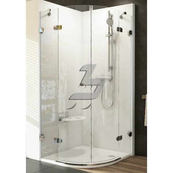Душевая дверь Ravak BSRV4-80 chrom+glass Transparent
