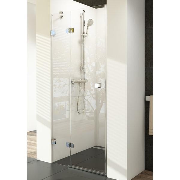 Душевая дверь Ravak BSD2-80 A-R chrom+glass Transparent (790-805)