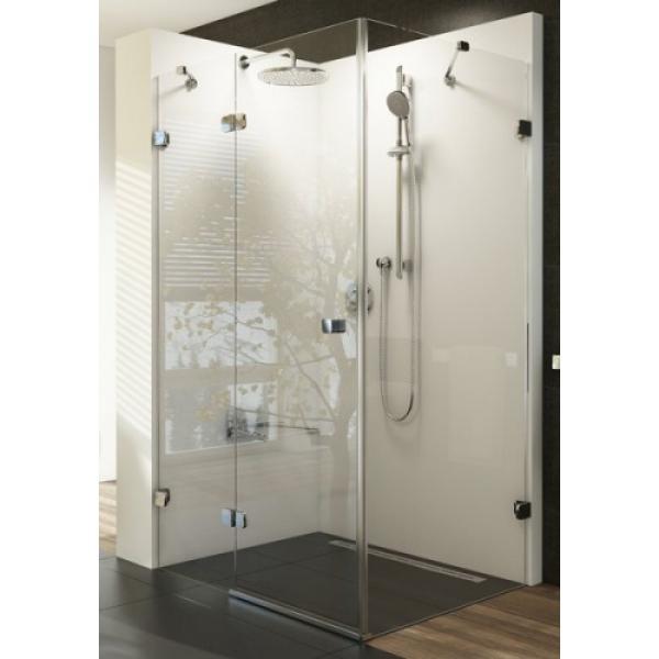 Душевая дверь Ravak BSDPS-80/80 R chrom+glass Transparent