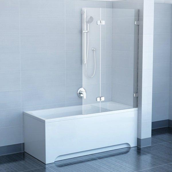 Шторка для ванны Ravak BVS2-100 R Transparent