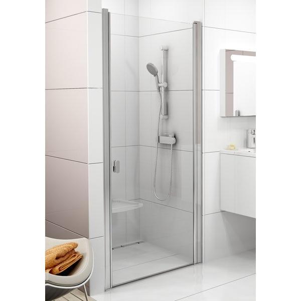 Душевая дверь Ravak CSD1-80 white+Transparent