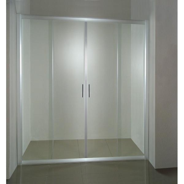 Душевая дверь Ravak NRDP 4-150 белые Grape