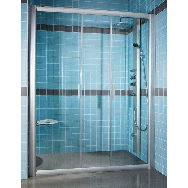 Душевая дверь Ravak NRDP 2-100 L satin Transparent