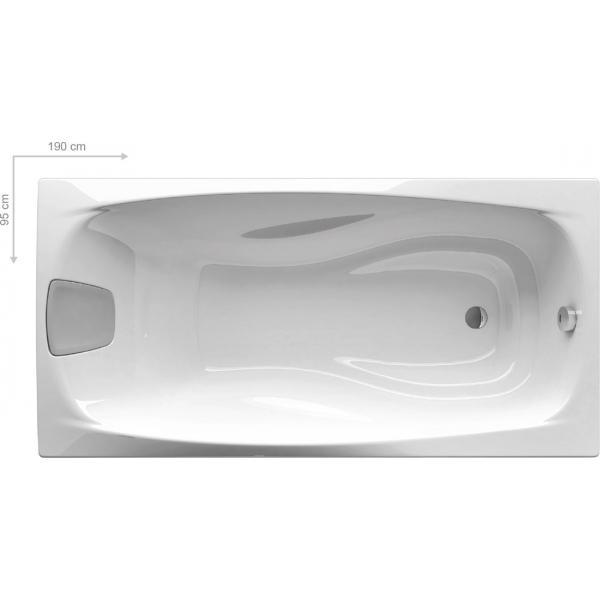 Ванна акриловая Ravak XXL 190х95