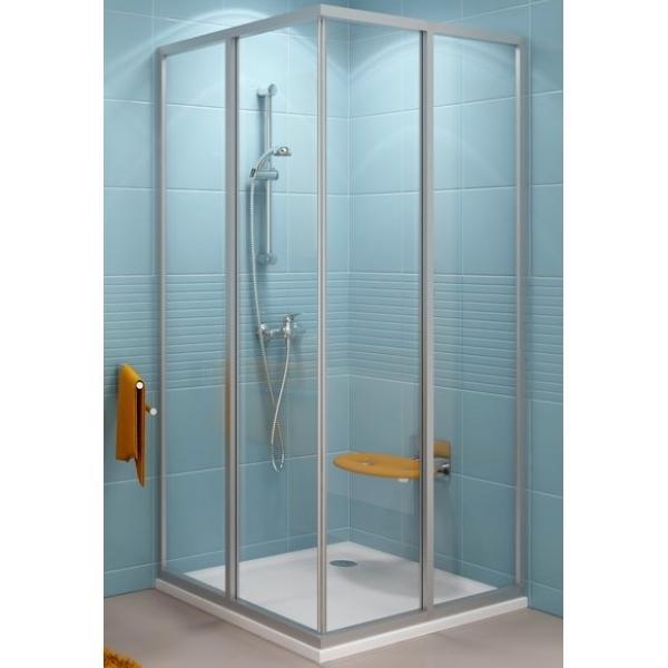 Душевая дверь Ravak SRV2 90 S satin Transparent