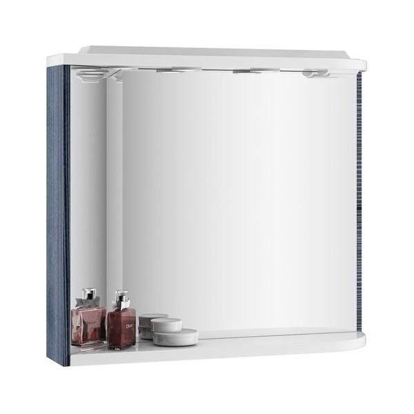 Зеркало M 960 L белое/белое