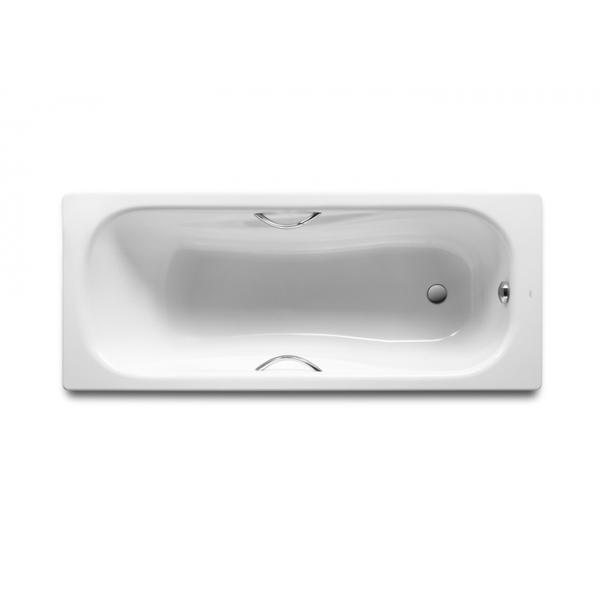 Ванна стальная Roca Princess 160x75 c ручками
