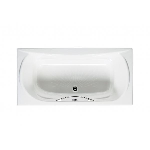 Ванна чугунная Roca Akira 170x85 c ручками