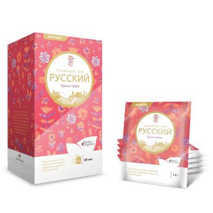 Фиточай Трынь-трава для женщин в фильтр-пакетах