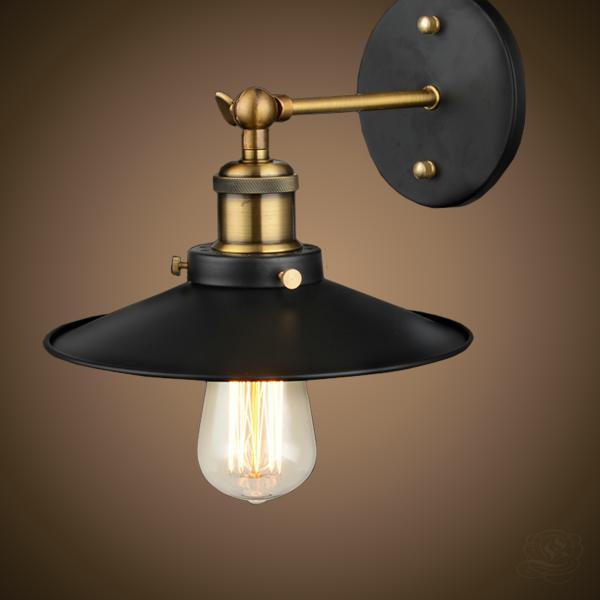 Светильник настенный LFT W25-1 BL черный Carlo De Santi