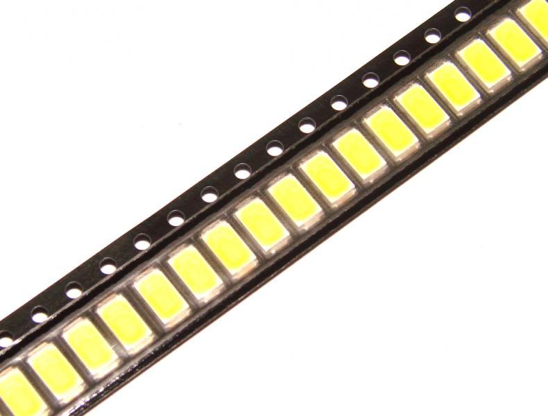 Светодиод 0,5 Вт 5730 ( тёплый белый )