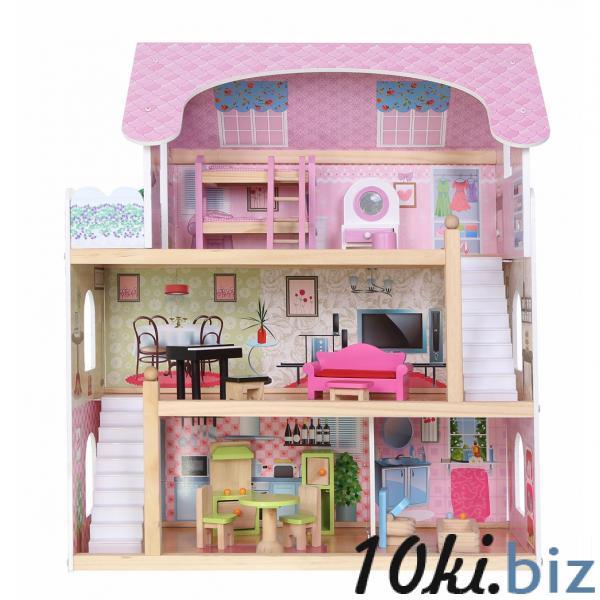 Кукольный домик Fairytale Residence из дерева, Польша Домики, ванночки, аксессуары для кукол и пупсов в Николаеве