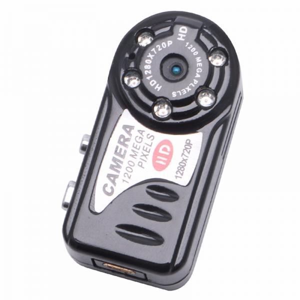 Q7 HD Mini DV Мини цифровая видеокамера наблюдения 12мп 1080 Р беспроводная с функцией ИК Ночного видения Фотоаппарат Диктофон Веб камера