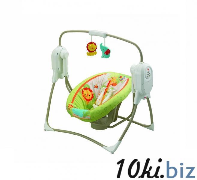 Кресло-качалка Умное качание Fisher-Price Джунгли Детские качели для дома в Николаеве