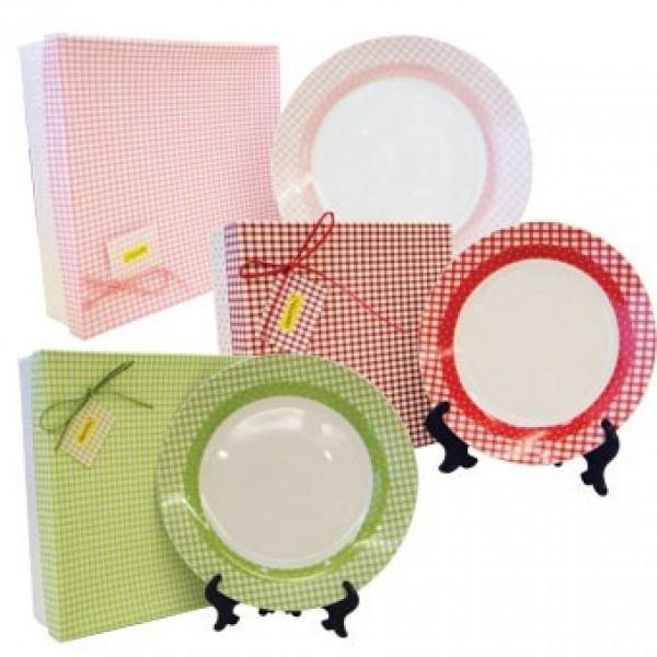 Набор фарфоровых тарелок MR