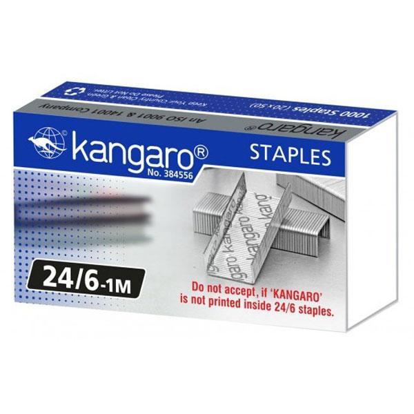 """Скобы 24 """"Kangaro"""" 24/6, 8, 10 (ЦЕНЫ по длине ножек разные, см. подробнее)"""