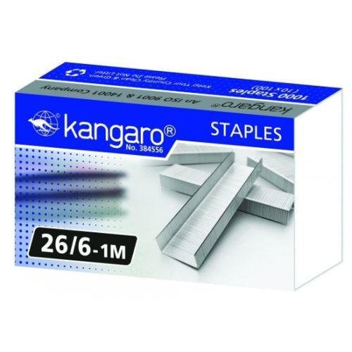"""Скобы 26/6 и 26/8 """"Kangaro"""" (ЦЕНЫ см. подробнее)"""