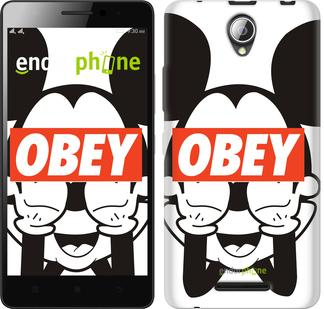 "Чехол на ZTE L110 Obey. Mickey mouse ""909u-435"""